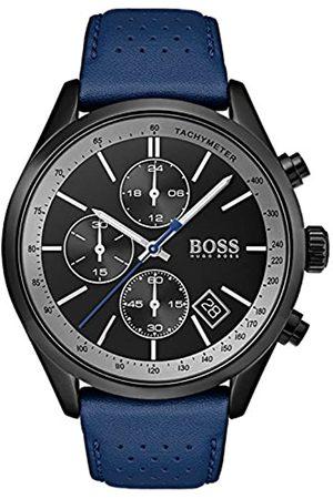 HUGO BOSS Reloj Cronógrafo para Hombre de Cuarzo con Correa en Cuero 1513563