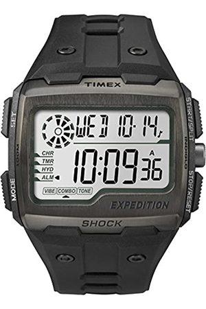 Timex Grid Shock - Reloj digital con correa de resina para hombre