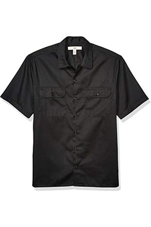 Amazon Short-Sleeve Stain and Wrinkle-Resistant Work Shirt Button-Down-Shirts