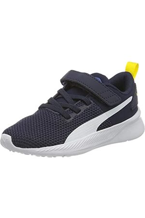 Puma Flyer Runner V Inf, Zapatillas Unisex bebé, (Galaxy Blue White/Peacoat/Meadowlark 05)