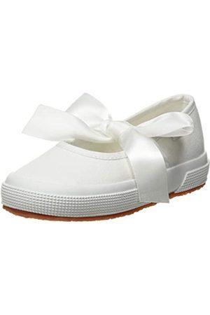 Superga 2257-cotj, Bailarinas con Tira de Tobillo para Niñas, (White 900)