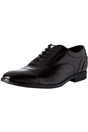 Geox U New Life C, Zapatos de Cordones Derby para Hombre, (Black C9999)