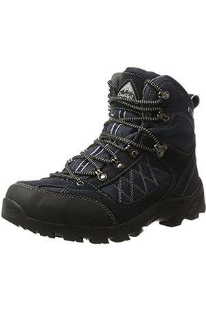 ConWay Hombre Trekking - 607418, Zapatos De High Rise Senderismo Hombre, (Navy/Grau)