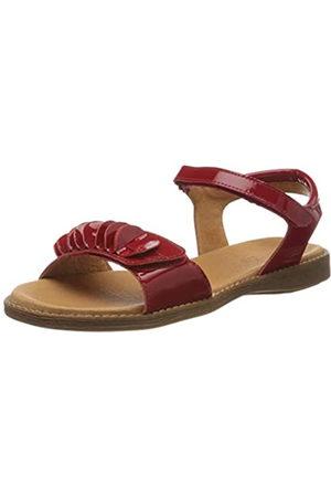 Froddo G3150154 Girls Sandal, Sandalias con Punta Abierta para Niñas, (Red Patent I97)