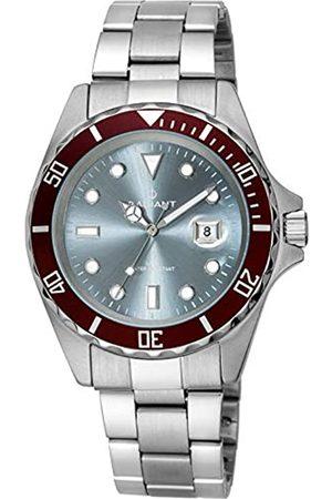 Radiant Reloj Analógico para Hombre de Cuarzo con Correa en Acero Inoxidable RA410204