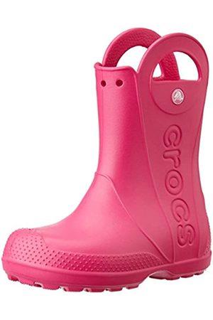 Crocs Handle It Rain Boot K, Botas de Agua Unisex Niños, (Candy Pink)
