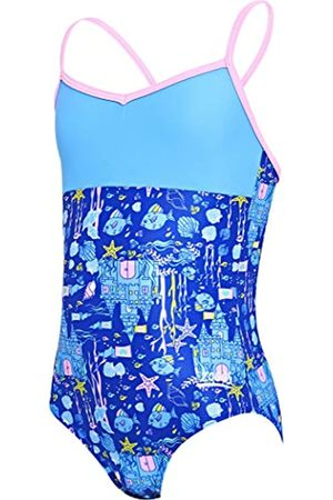 Zoggs Undersea V Back - Bañador para niña, Niñas, 513919021