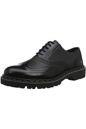 Art Cambridge, Zapatos de Cordones Oxford para Hombre, (Black/Black Black/Black)
