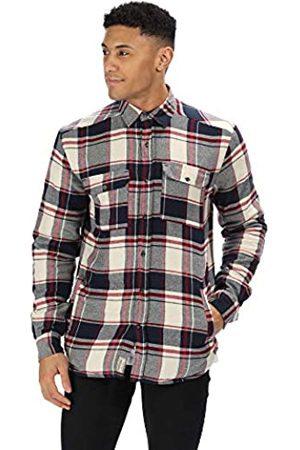 Regatta Tygo - Camiseta de Manga Corta para Hombre (algodón, Forro Polar), Hombre, RMS130 54080