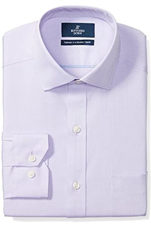 Buttoned Down Tailored Fit Spread-Collar Solid Non-Iron Dress Shirt Camisa