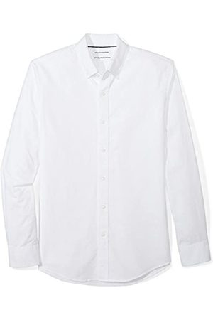 Amazon Hombre Slim-fit Long-sleeve Solid Oxford Shirt Not Applicable