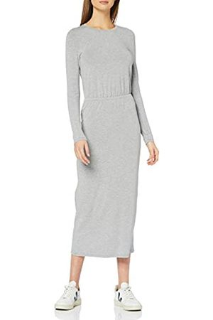 FIND Elastic Waist Jersey Maxi Dress Vestidos Mujer