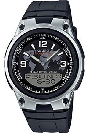 Casio Reloj Analógico-Digital para Hombre de Cuarzo con Correa en Plástico AW-80-1A2VES
