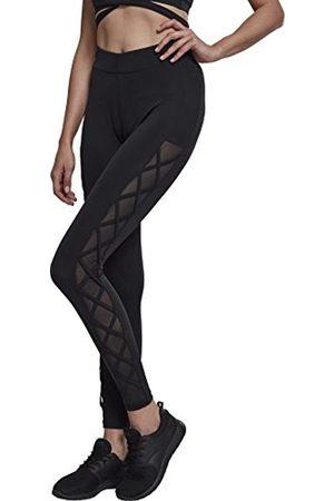 Urban classics Ladies Ribbon Mesh Leggings 44 para Mujer