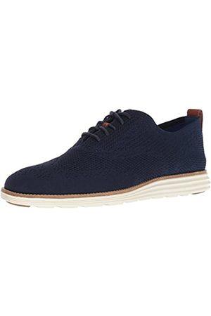 Cole Haan Original Grand Stitchlite, Zapatos de Cordones Oxford para Hombre, Blau Navy/Ivory