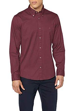 Brooks Brothers Sport Shirt Garment Dye Twill Milano Camisa Casual