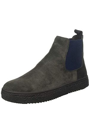 Stonefly Voyager Velour Shade, Botas Chelsea para Hombre, (Forged Gray 07x)