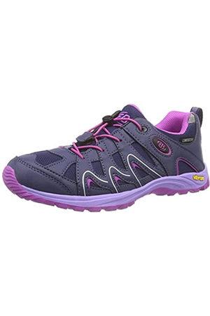 Eb & Vloed Vision Low Kids, Zapatos de Senderismo Unisex niños, Morado (Lila/Pink)