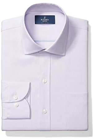 Buttoned Down Slim Fit Solid Pocket Options Camisa, Morado (with)