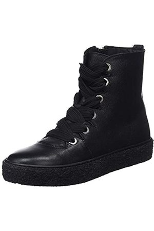 Mamatayoe Wendy, Zapatillas Altas para Mujer, (Black Real Leather 001)