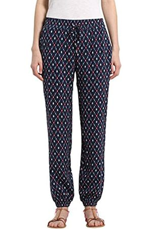 Berydale Mujer Pijamas - Pantalones de tela suaves de mujer, Marino/Rojo/ /