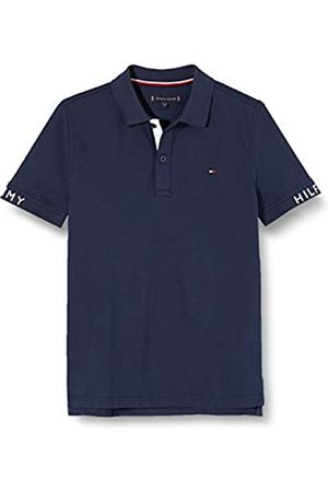 Tommy Hilfiger Sleeve Text Polo S/s