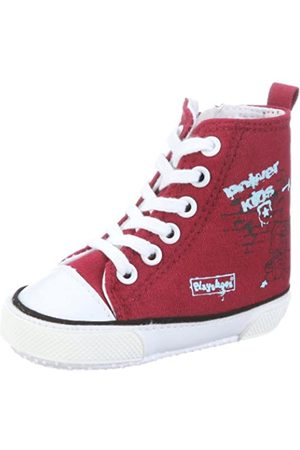 Playshoes Primeros Zapatos Power Kids, Zapatillas Casual Unisex bebé, (Rot 8)