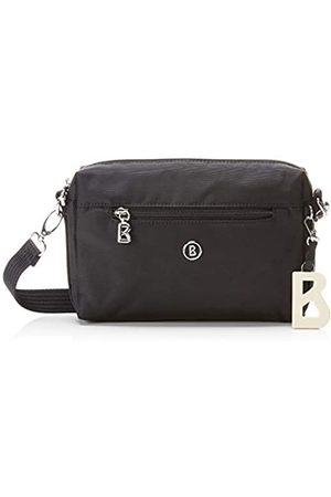 Bogner Verbier Pukie Shoulderbag ShzMujerShoppers y bolsos de hombroNegro (Black) 4x15x22 centimeters (W x H x L)