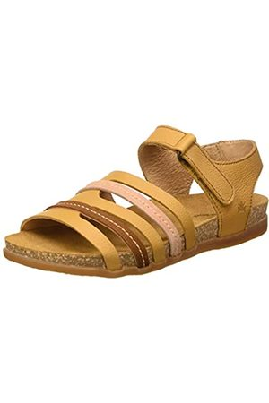 El Naturalista N5247 Multi Leather Zumaia, Sandalias con Punta Abierta para Mujer, (Curry Mixed Curry Mixed)