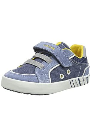 Geox B Kilwi Boy B, Zapatillas para Bebés, (Avio/Dk Sky C4b4s)