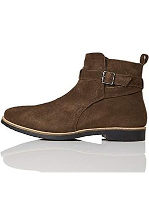 FIND Marca Amazon - Ethan Botas Clasicas, Chocolate Brown
