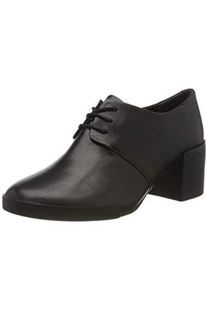 Camper Lotta, Zapatos de Cordones Oxford para Mujer, Schwarz (Black 1)