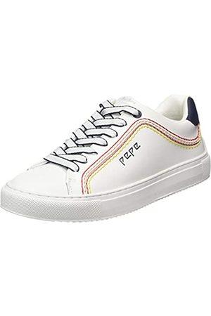 Pepe Jeans Adams Rolls, Zapatillas para Mujer, (White 800)
