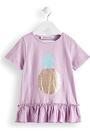 RED WAGON Girl's Pineapple T-Shirt, Purple (Lilac)