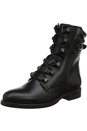 Tommy Hilfiger Pin Logo Lace Up Boot, Botines para Mujer