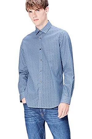 FIND Camisa Estampada Entallada para Hombre