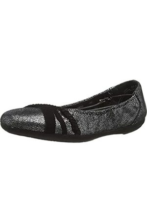 Marc Janine, Bailarinas para Mujer, (Goat Suede Silver 00833)