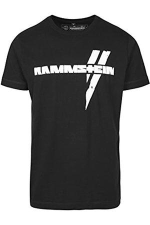 Rammstein Hombre Blanco Haz tee – Camiseta, Hombre, Weiße Balken tee