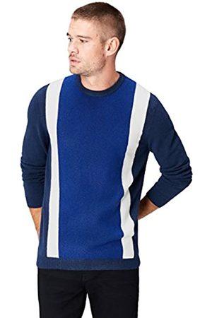 FIND Jersey de Punto con Bandas de Color para Hombre