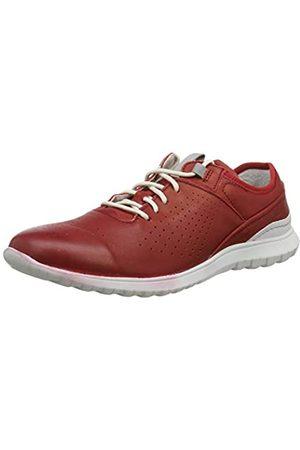 Josef Seibel Malena 01, Zapatos de Cordones Derby para Mujer, (Rot-Kombi 401)