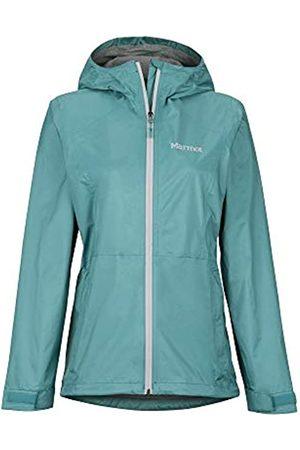 Marmot Wm's Precip Eco Plus Jacket Chubasquero Rígido, Chaqueta, Prueba De Viento, Impermeable, Transpirable, Mujer