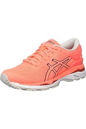 Asics Gel-Kayano 24, Zapatillas de Running para Mujer, (Flash Coral/Black/White)