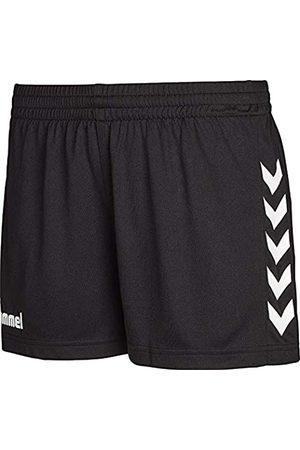Hummel Sporthose Kurz-Core Womens Shorts-Trainingshose Damen hohe Bewegungsfreiheit-Laufshorts atmungsaktiv Pantalones Cortos, Mujer