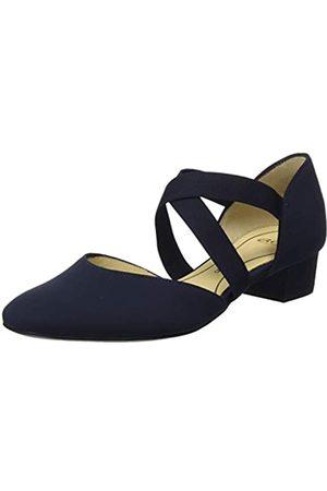 ARA Milano, Zapatos con Tacon y Correa de Tobillo p Mujer, (Blau 66)