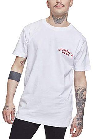 Mister Tee Mister té Hombre giuseppes Pizzería tee – Camiseta, Hombre, MT709