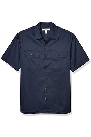 Amazon Short-Sleeve Stain and Wrinkle-Resistant Work Shirt camisa