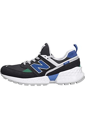 New Balance 574S v2, Zapatillas Unisex Niños, (Black/UV Blue SL)