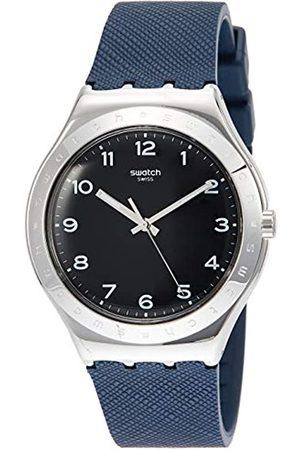 Swatch Reloj Analógico para Unisex Adultos de Cuarzo con Correa en Caucho YWS102