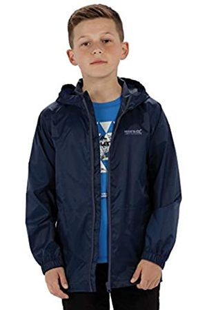 Regatta Chaqueta Jacket III Impermeable y Transpirable Ligera sin Forro con Capucha Jackets Waterproof Shell, Unisex niños