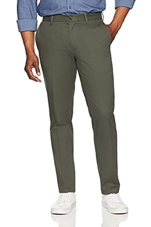 Amazon Slim-Fit Wrinkle-Resistant Flat-Front Chino Pant Pants